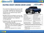 helping credit unions grow loans1