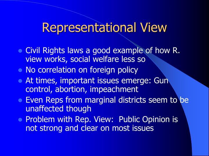 Representational View
