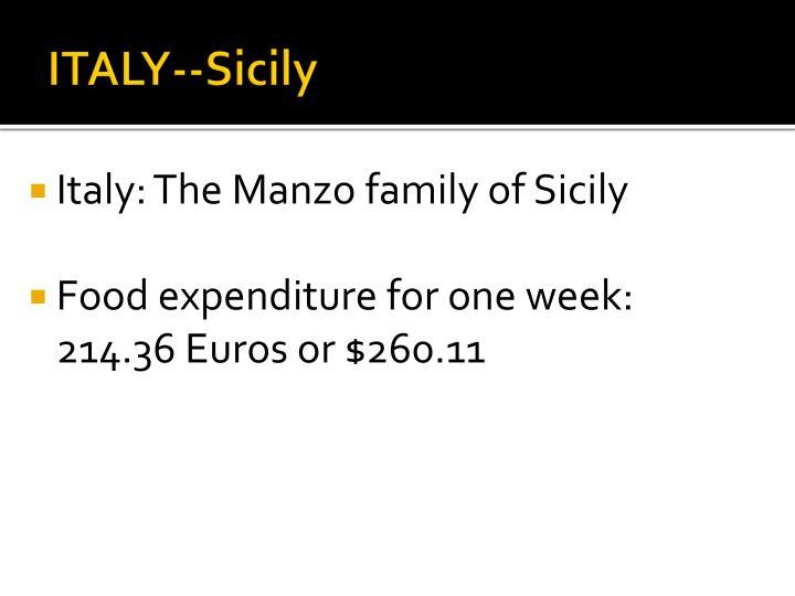 ITALY--Sicily