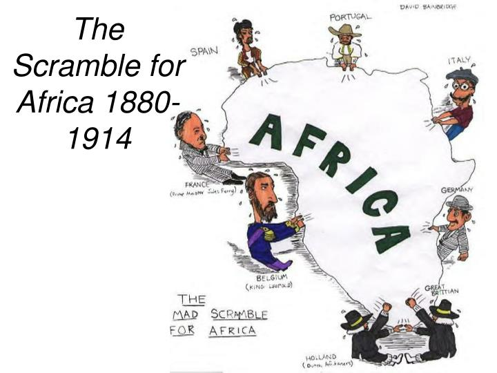 the scramble for africa 1880 1914 n.