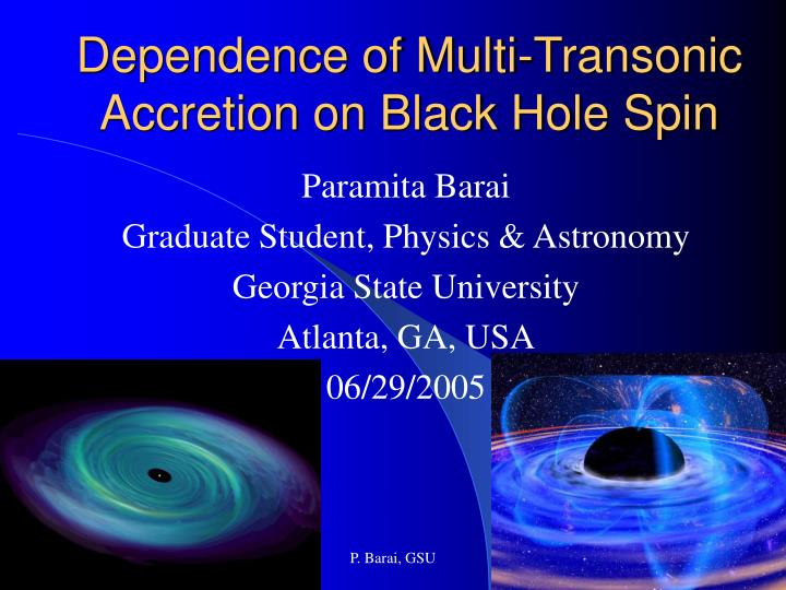 dependence of multi transonic accretion on black hole spin n.