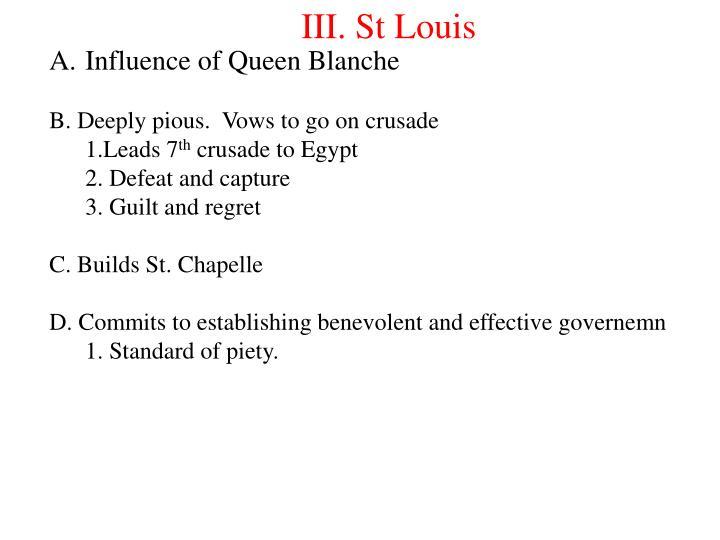 III. St Louis