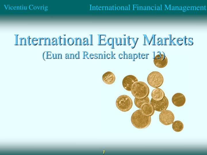 international equity markets eun and resnick chapter 13 n.