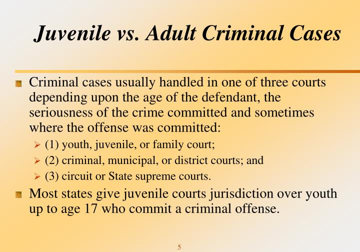 in cases of juvenile arrest rehabilitation Juvenile offenders and victims: a national report, national center for juvenile justice (august, 1995) cases that progress through the system may result in adjudication and court-ordered supervision or out-of-home placement, or may result in transfer for criminal (adult) prosecution.