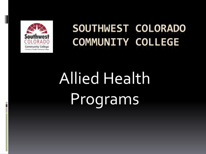 southwest colorado community college n.