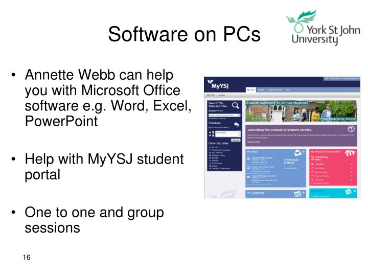 Software on PCs
