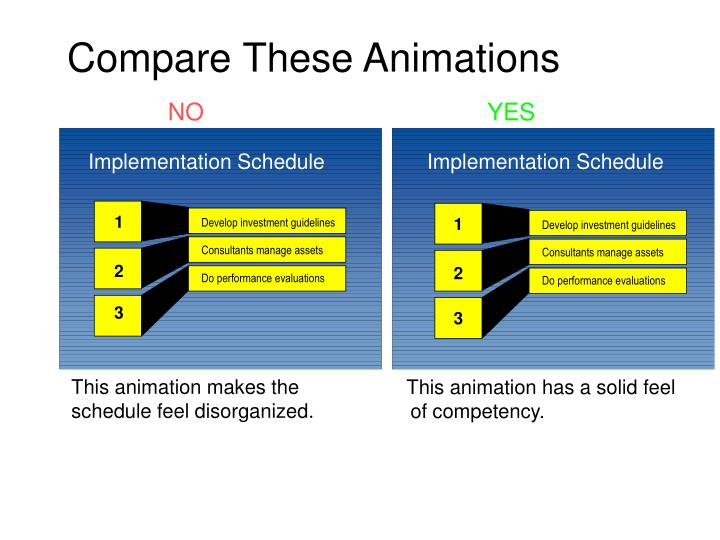 compare these animations n.