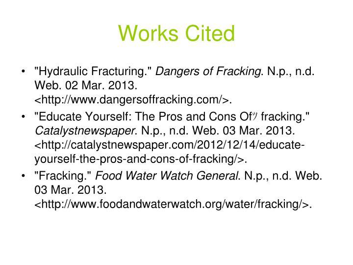 disadvantages of fracking