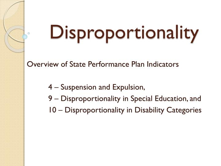 disproportionality Primer on disproportionality analysis version: 2015-12-02 author: ruwen böhm  contingency tables.