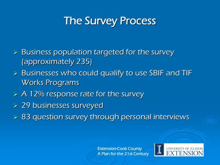 The Survey Process