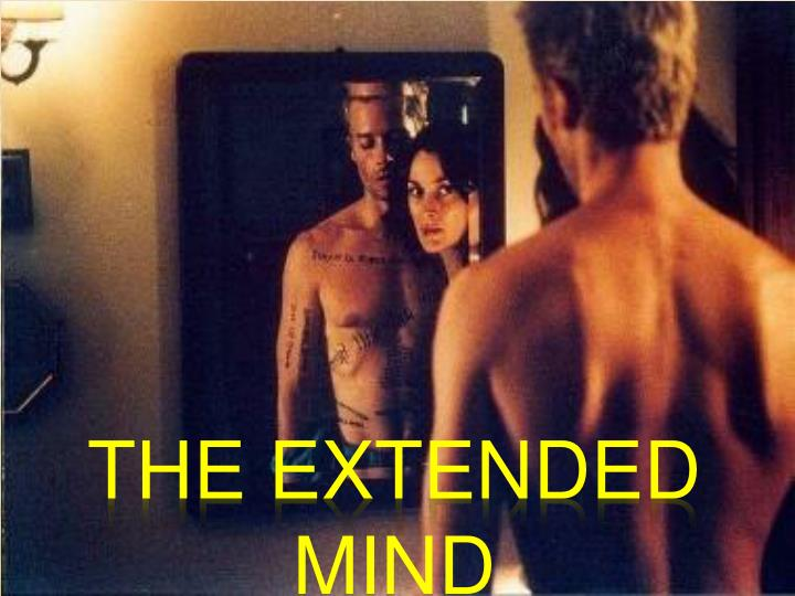 The extended mind
