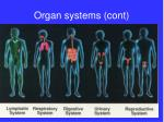 organ systems cont