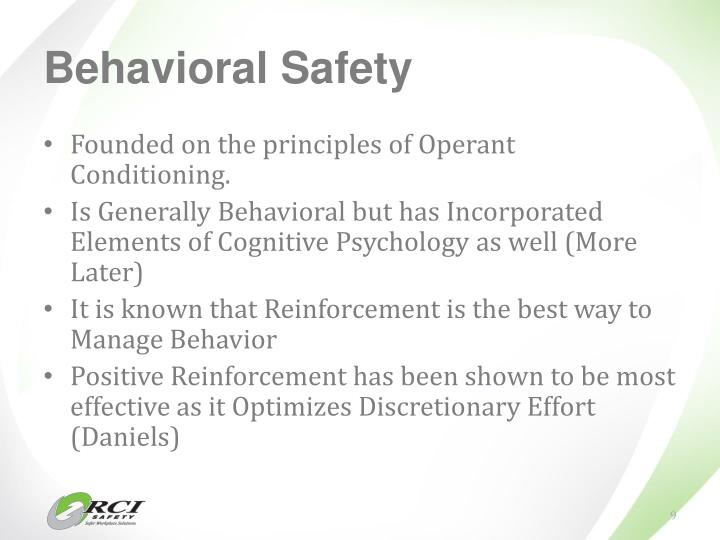 Behavioral Safety