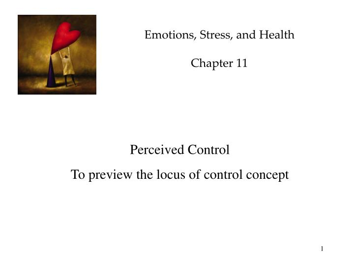 emotions stress and health chapter 11 n.