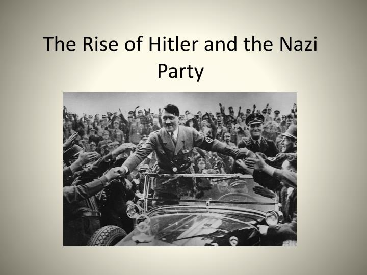 how the nazi party become the