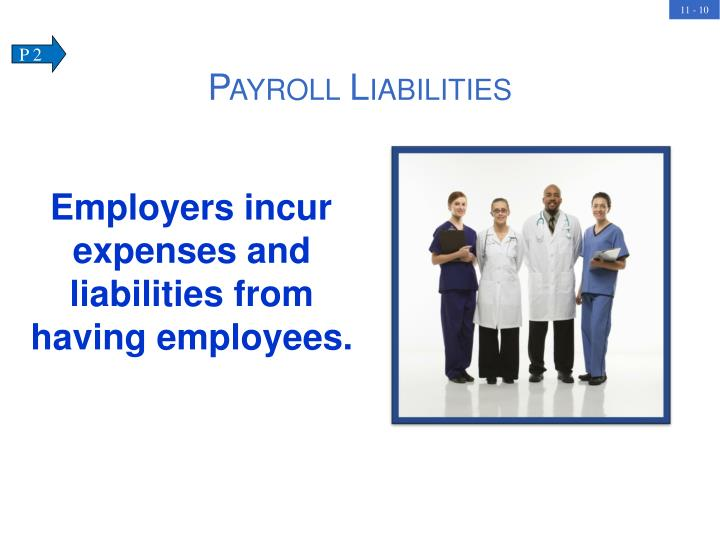 Employers incur expenses and