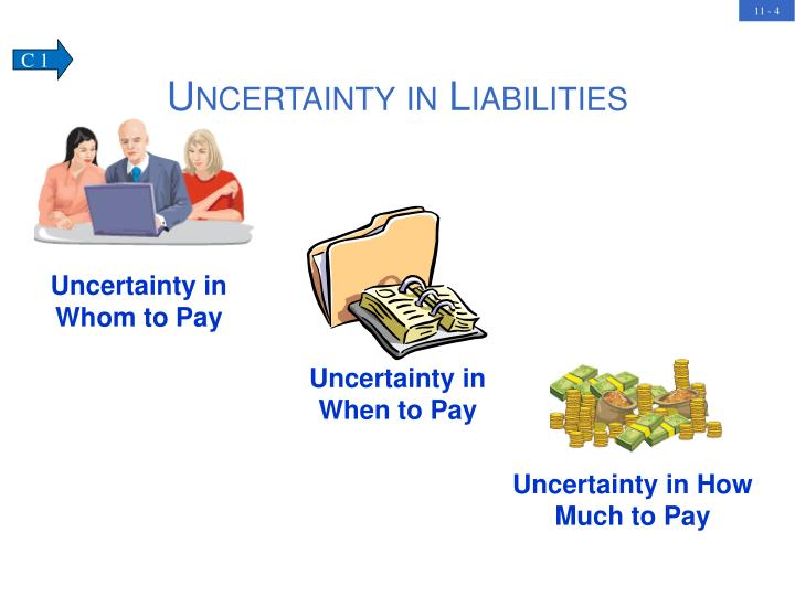 Uncertainty in When to Pay