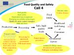 food quality and safety call 4