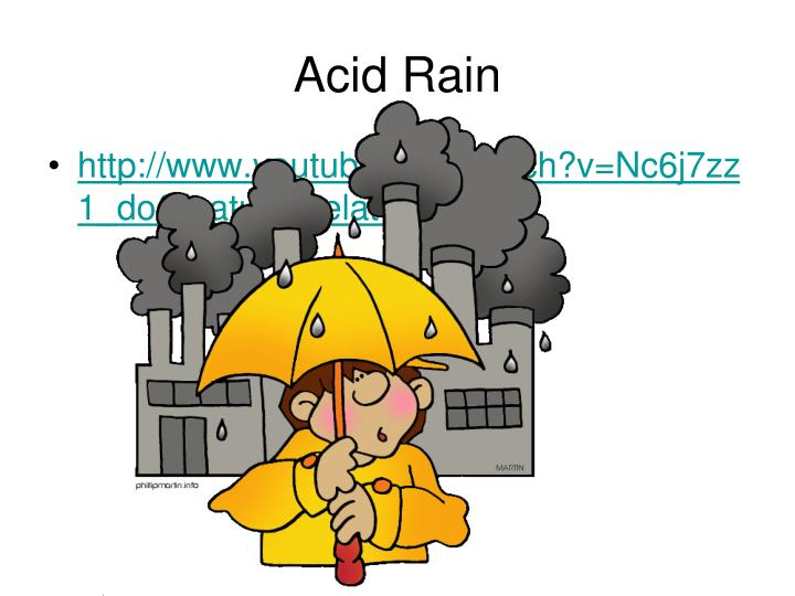 an analysis of the acid rain and the concept of making What is an analytical approach , such as the way acid rain is it fails completely on difficult problems because classic activism has no concept of.