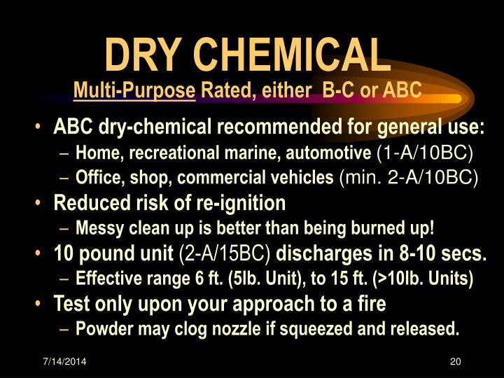 DRY CHEMICAL