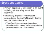 stress and coping1