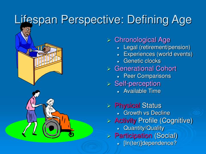 Lifespan Perspective: Defining Age