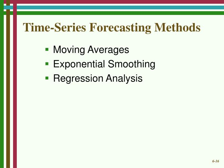 Time-Series Forecasting Methods