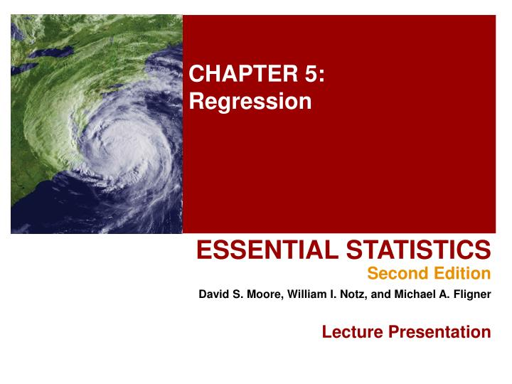 chapter 5 regression n.