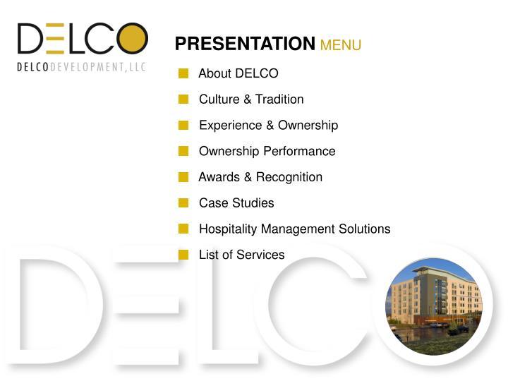 About DELCO