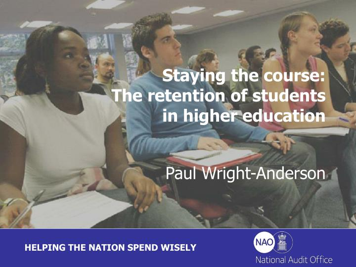 staying the course the retention of students in higher education n.