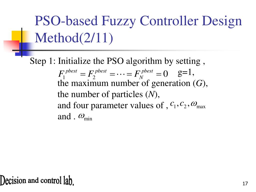 PPT - PSO-based Motion Fuzzy Controller Design for Mobile