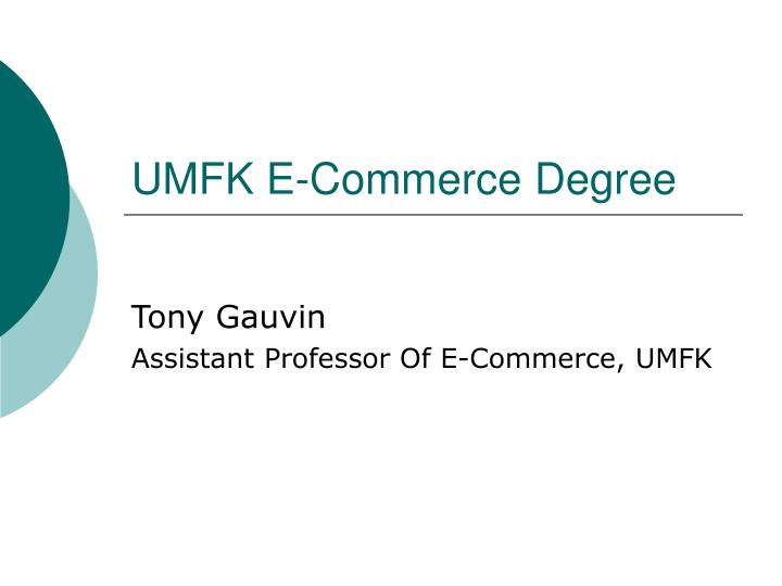 umfk e commerce degree n.