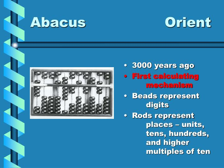 Abacus orient