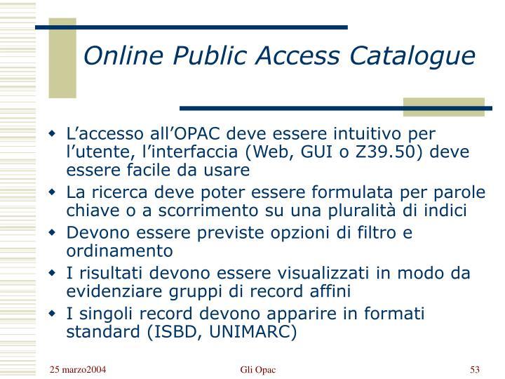 Online Public Access Catalogue