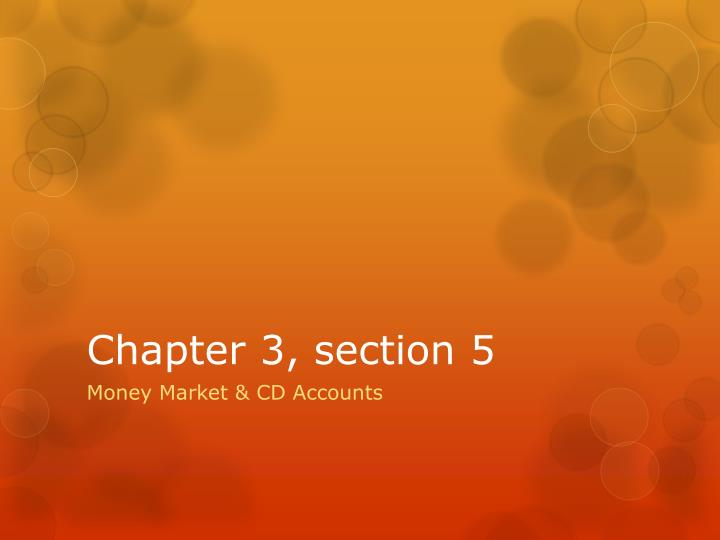 chapter 3 section 5 n.