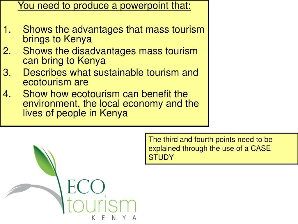 sustainable tourism advantages and disadvantages