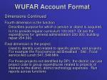 wufar account format2