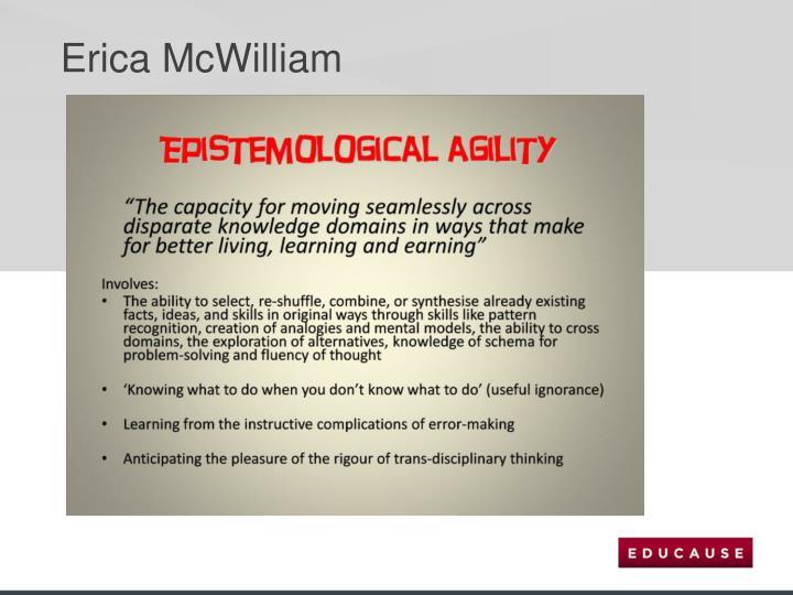 Erica McWilliam