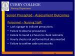 senior precepted assessment outcomes2