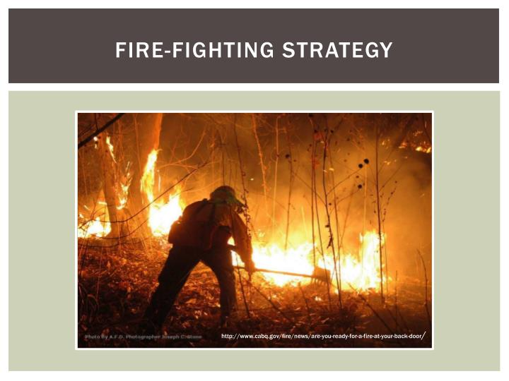 Fire-Fighting Strategy