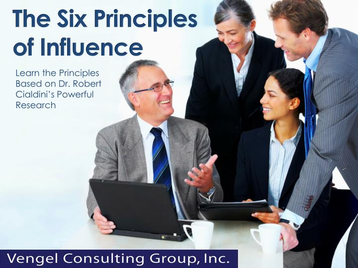 the six principles of influence n.