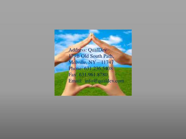 Address: QualDev