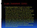 scope statement contd