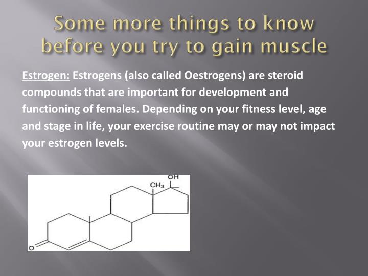 Some more things to know before you try to gain muscle