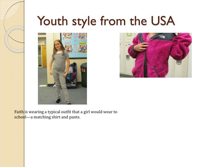 Youth style from