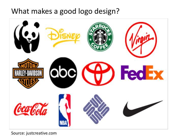 What makes a good logo design?