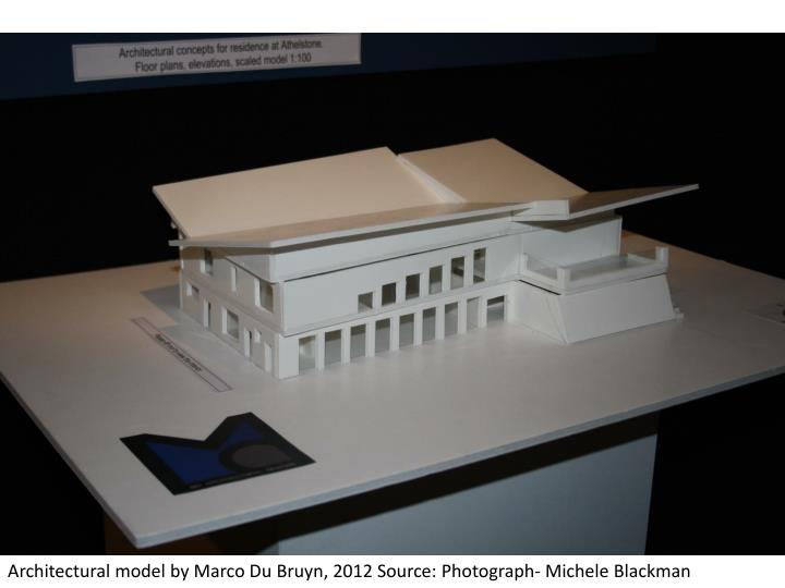 Architectural model by Marco Du