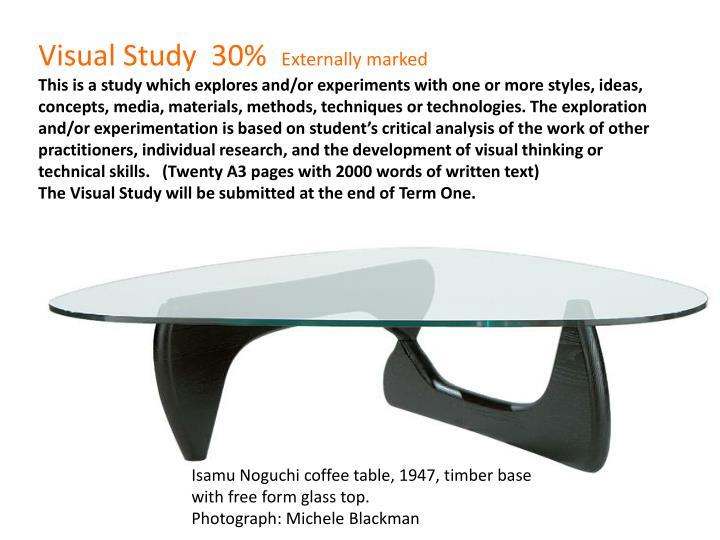 Visual Study  30%