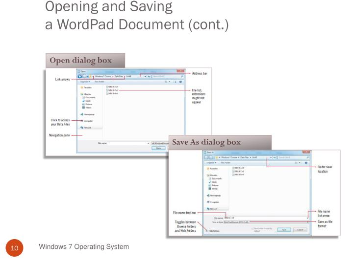 ppt usingwindows programs including wordpad and paint powerpoint