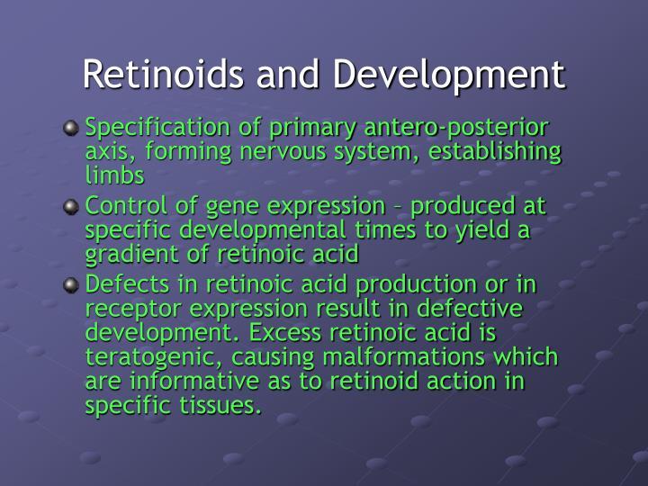 Retinoids and Development